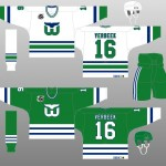 1991-92 Hartford Whalers Uniform Design